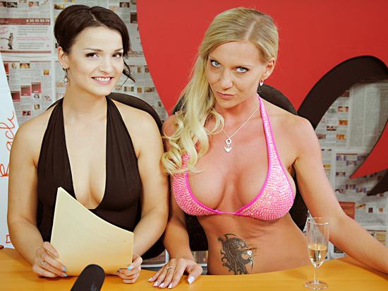 Maria Mia und Sharon da Vale ein heißes Team